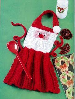 Avental de Papai Noel