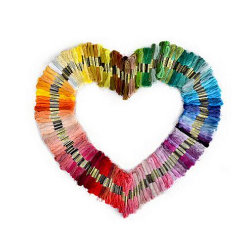 Lote com 50 meada cores não repitidas