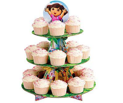 Suporte para Cupcake da Dora