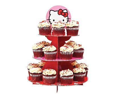 Suporte para Cupcake da Hello Kitty