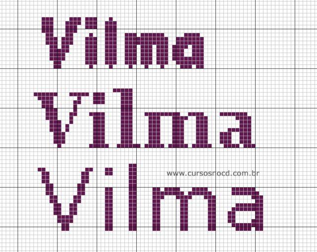 Gráficos gratuitos com o nome Vilma