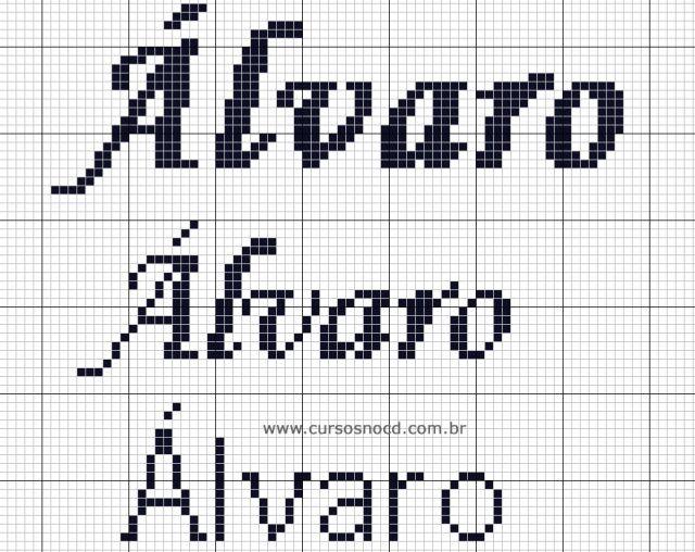 Nome Álvaro em Ponto Cruz