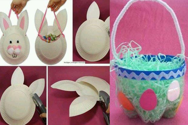 Easter basket art and craft : Decora??o ideais para decorar a casa p?scoa diy
