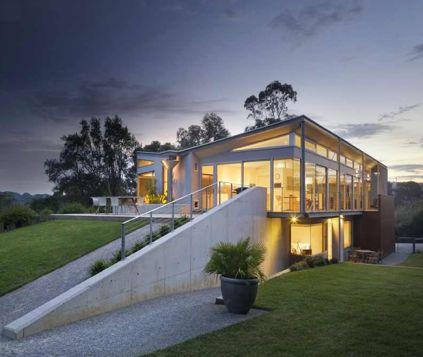 Fachada de Casa de Luxo na Austrália