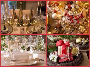 Decoração de Natal para Ceia