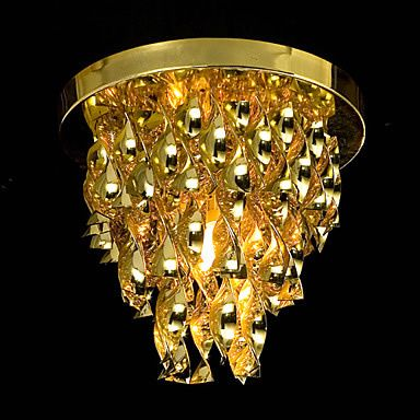 Lustre dourado