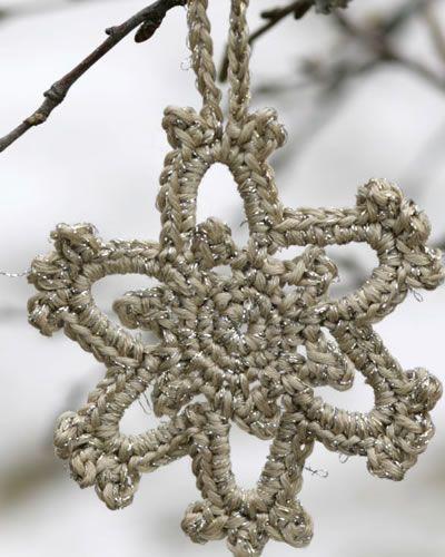 Guirlanda de crochê - pode ser feita em diversas cores