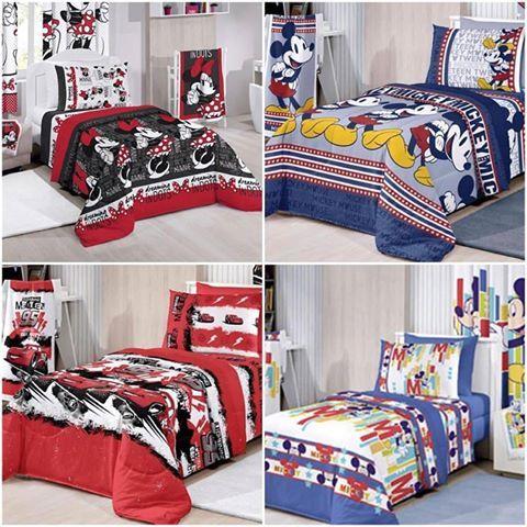Roupa de Cama da Disney disponível na LOJA DECÉ www.lojadece.com.br