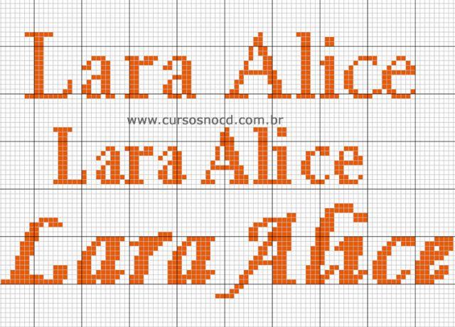 Lara Alice ponto Cruz
